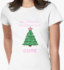 Breast Cancer Christmas T-Shirt