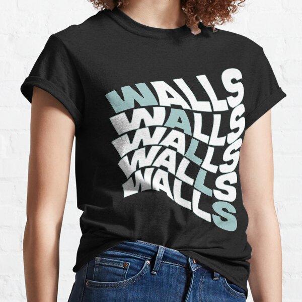 paredes louis tomlinson color raya azul Camiseta clásica