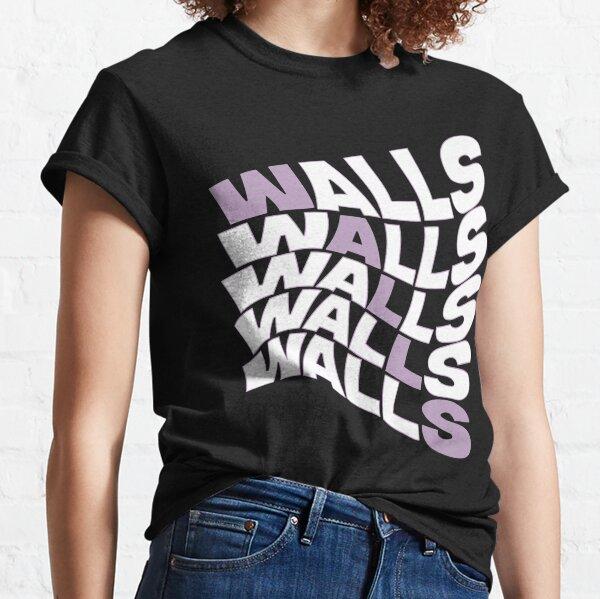paredes louis tomlinson color raya púrpura Camiseta clásica