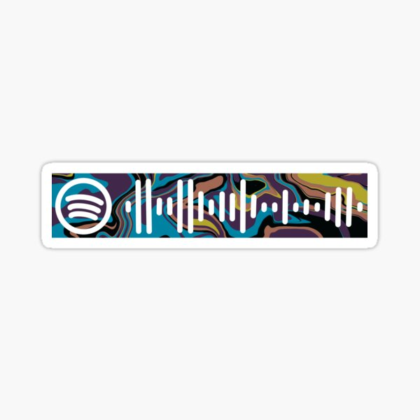 CALM Spotify Code Sticker