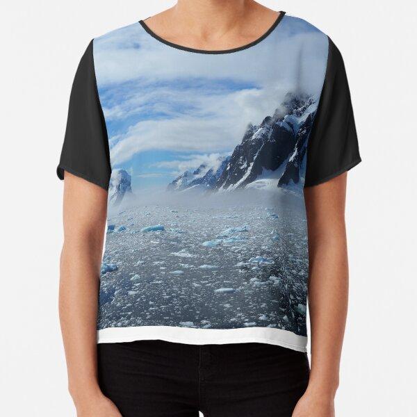 Protect Antarctica Chiffon Top