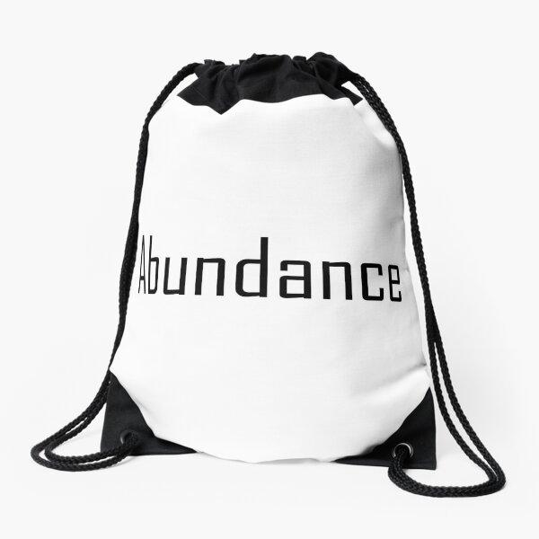 Law of Attraction - Abundance Drawstring Bag
