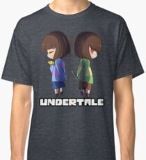Undertale - chara and frisk Classic T-Shirt