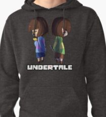 Undertale - chara and frisk Pullover Hoodie