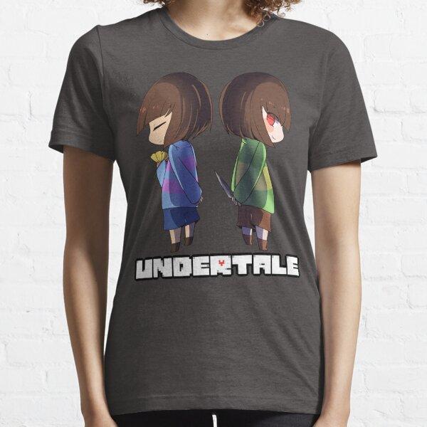 Undertale - chara y frisk Camiseta esencial