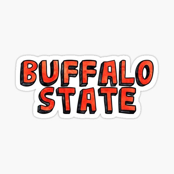 Buffalo State  Sticker