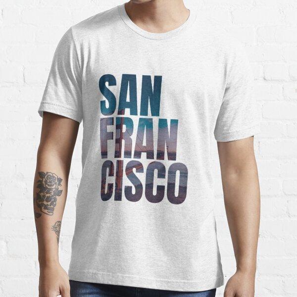 San Francisco Golden Gate Bridge USA California Essential T-Shirt