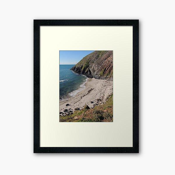 Secret Cove - Carrickalinga, South Australia Framed Art Print