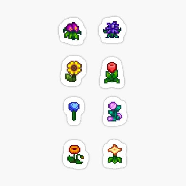 Stardew Valley Flowers Sticker