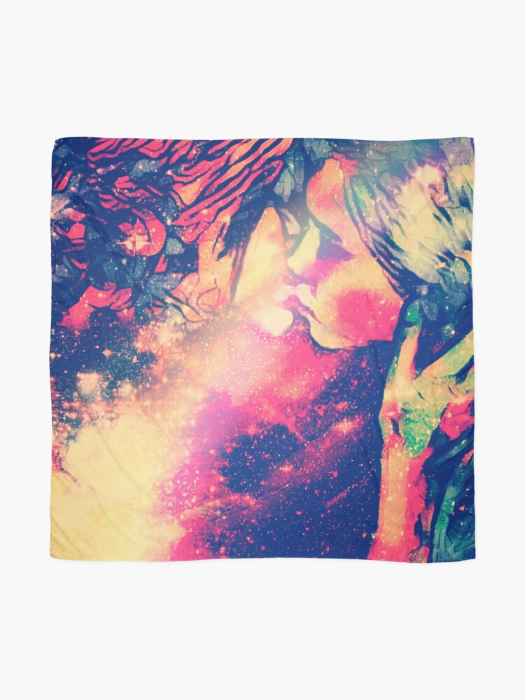 Alternate view of Kiss Of The Moon Goddess  Scarf