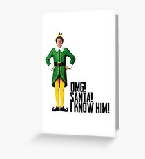 Elf - Will Ferrell | Buddy - Christmas Quote - Funny Greeting Card