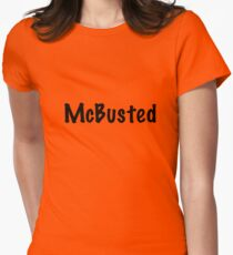 McBusted  Women's Fitted T-Shirt
