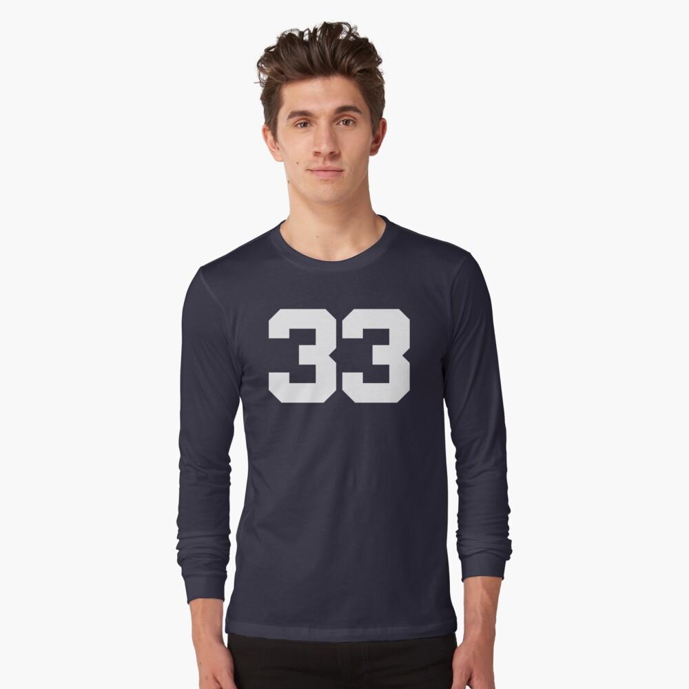 #33 Long Sleeve T-Shirt