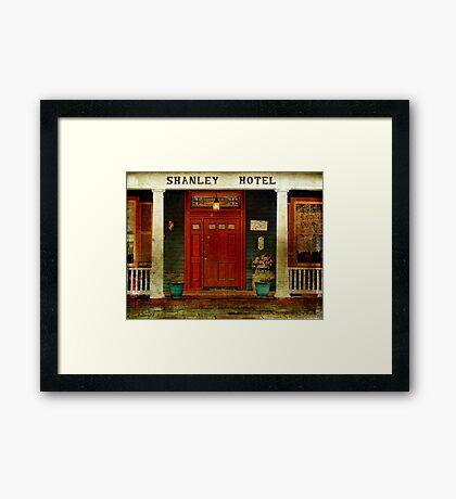 The Shanley Hotel Framed Print