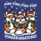 """What does the Fox Sing"" (T-shirts) by Ameda"