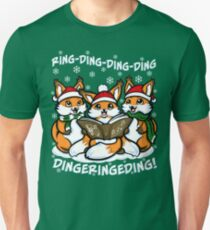 """""""What does the Fox Sing"""" (T-shirts) Unisex T-Shirt"""