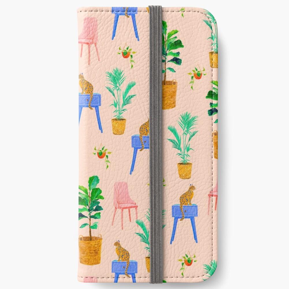 Rattan Home Decor iPhone Wallet