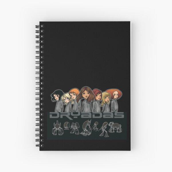 DRYADAS - niñas Cuaderno de espiral