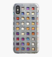Red Grid Phone Case iPhone Case