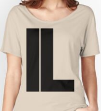 Illinois IL Black Ink Women's Relaxed Fit T-Shirt