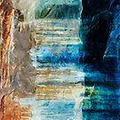 Pictured Rocks National Lakeshore Abstract Impressionism by pjwuebker