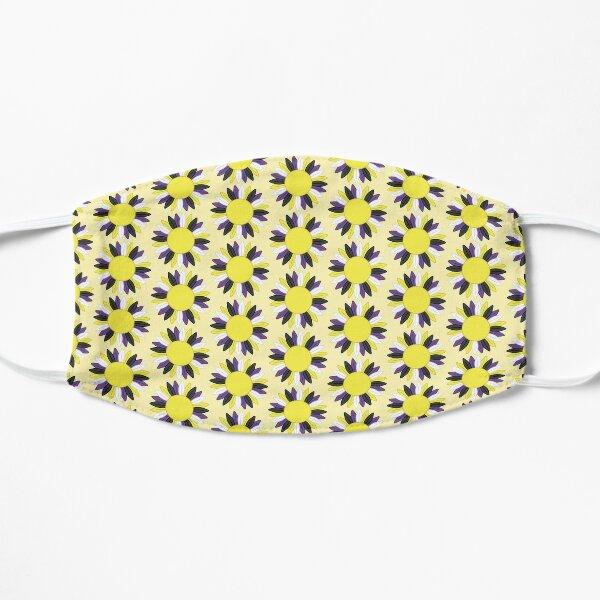 Non Binary Pride Sunflower Flat Mask