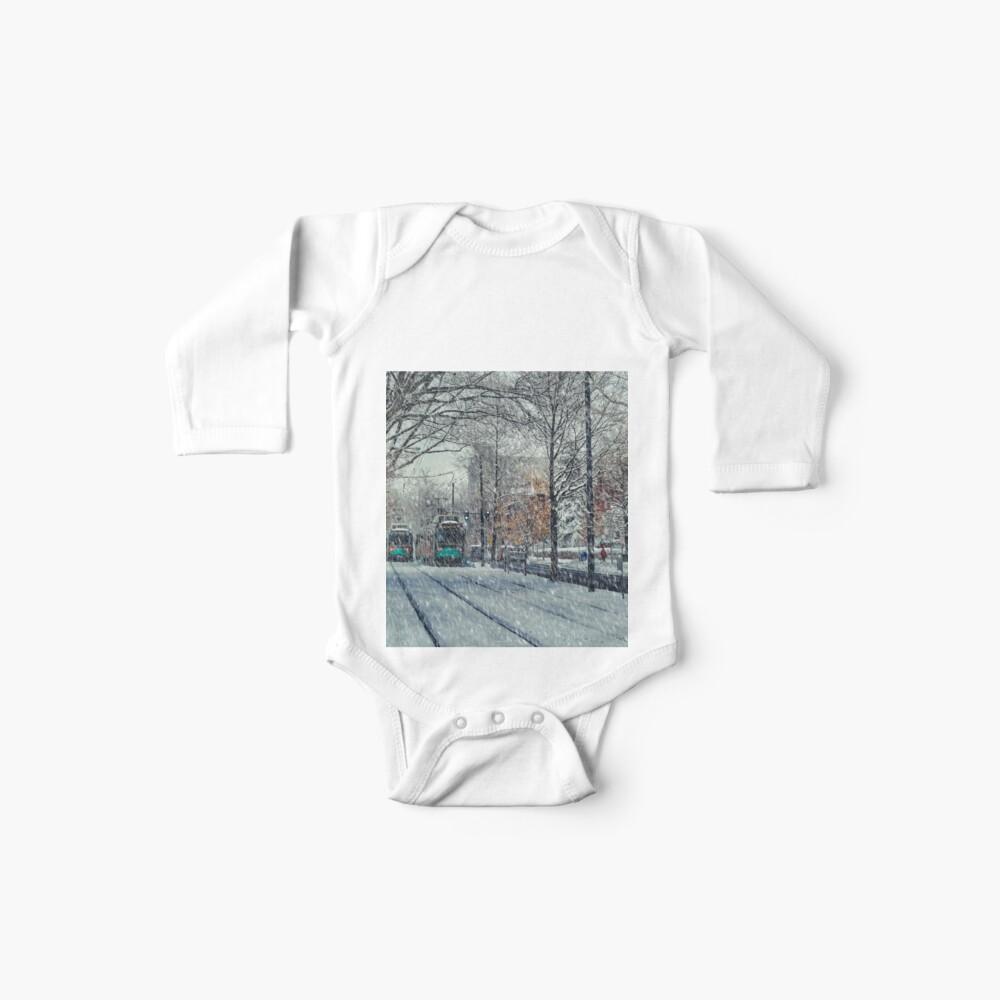 Never ending winter. Brookline, MA Baby Bodys