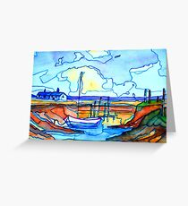 Fishing boat in Kerry Greeting Card