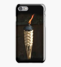 Candle in the wind iPhone Case/Skin