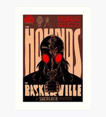Vintage Poster - The Hounds of Baskerville Art Print