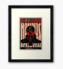 Vintage Poster - The Hounds of Baskerville Framed Print