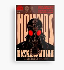 Vintage Poster - The Hounds of Baskerville Metal Print