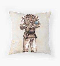 TYJJ - Thank You Jiu-Jitsu IMAGE - BLUE Throw Pillow
