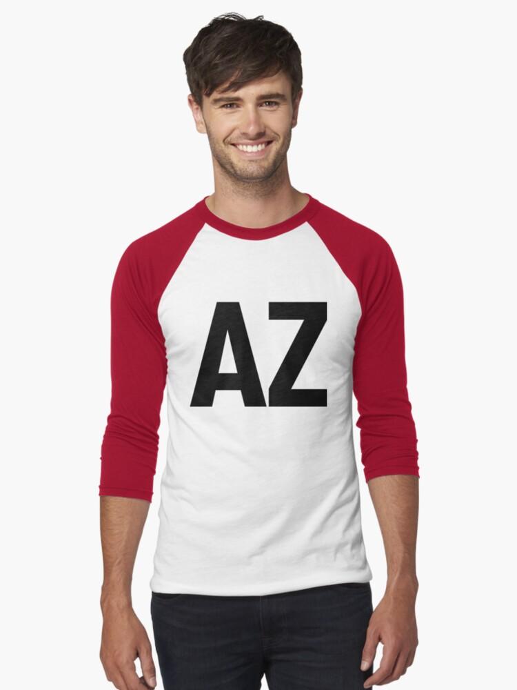 Arizona AZ Black Ink by FreshThreadShop