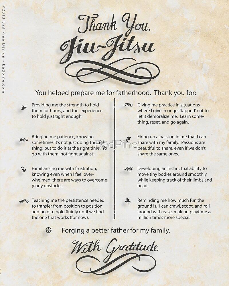 The TYJJ Manifesto (Thank You Jiu-Jitsu) NEUTRAL/PLURAL    by BadPine