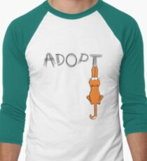 Adopt Cats Dark Claw Marks | Patch & Rusty™ T-Shirt