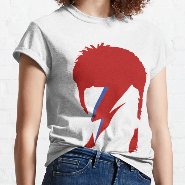 David Bowie Lightning T-shirt classique