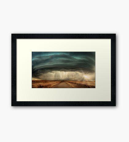 Super Cell Storm Framed Print