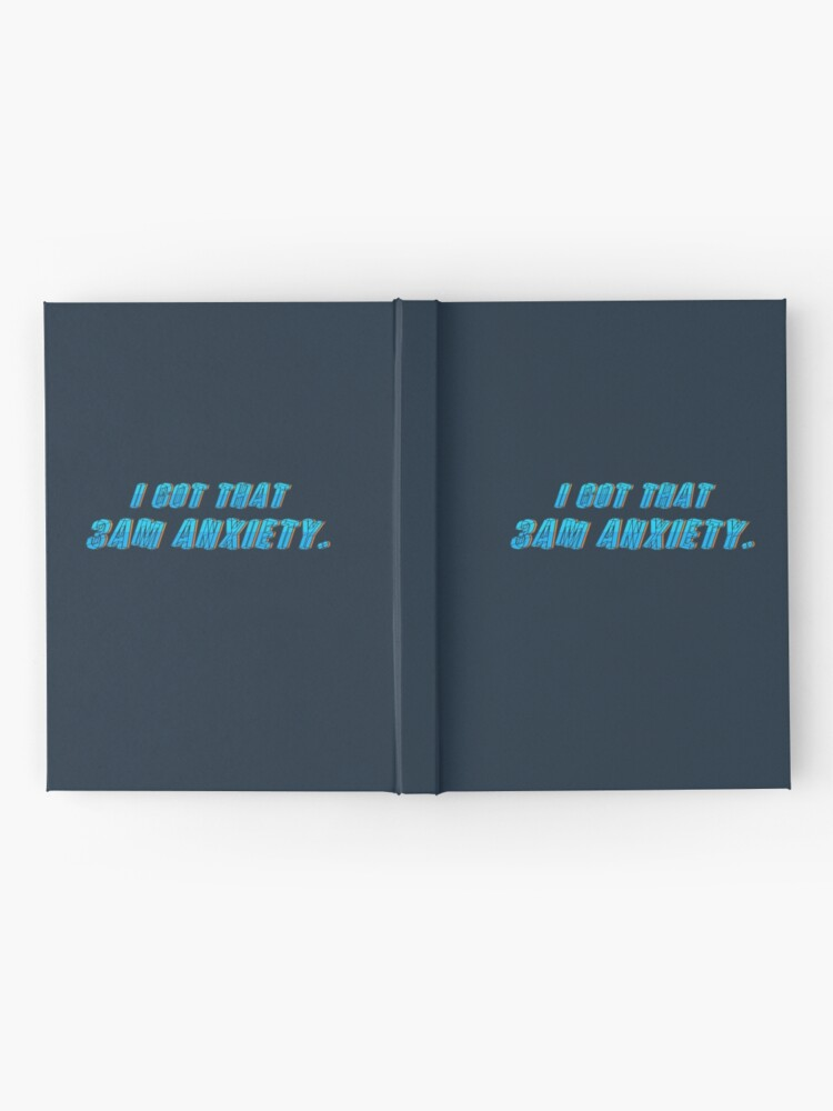 Alternate view of Got That 3AM Anxiety - Lil Phag Design Hardcover Journal