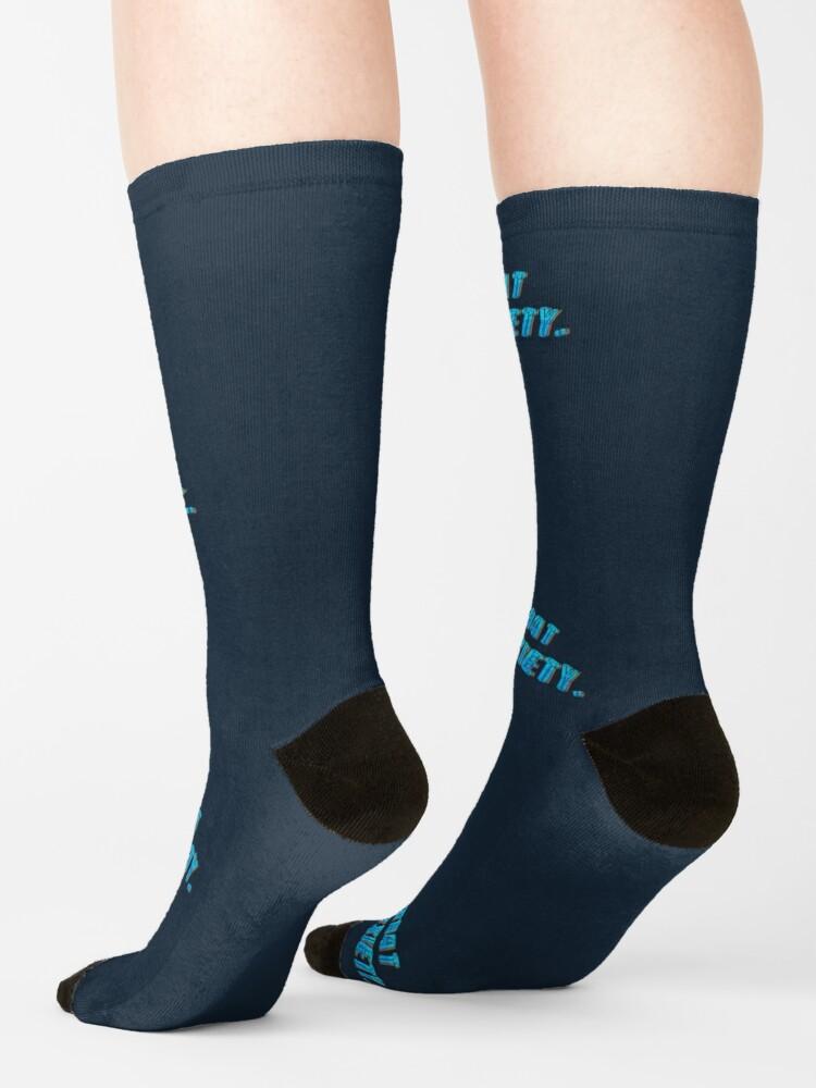 Alternate view of Got That 3AM Anxiety - Lil Phag Design Socks