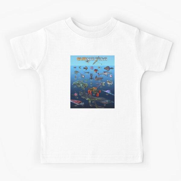 subnautica Camiseta para niños
