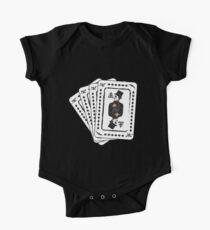 Body de manga corta para bebé Rey (de) Diamante (s)
