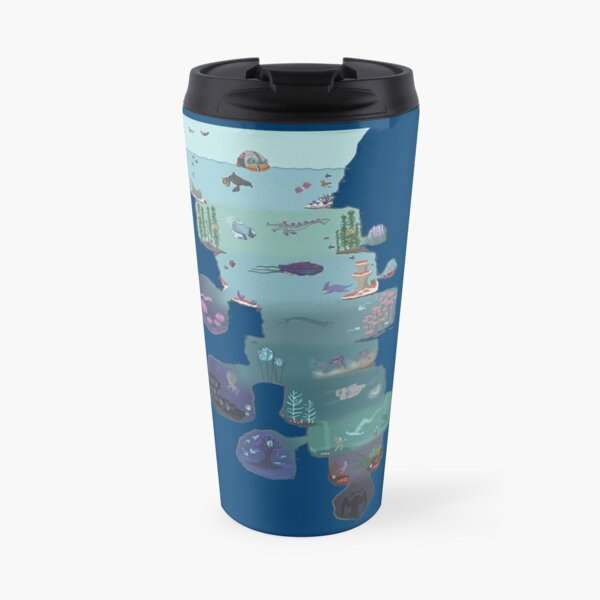 Subnautica cross section  Travel Mug