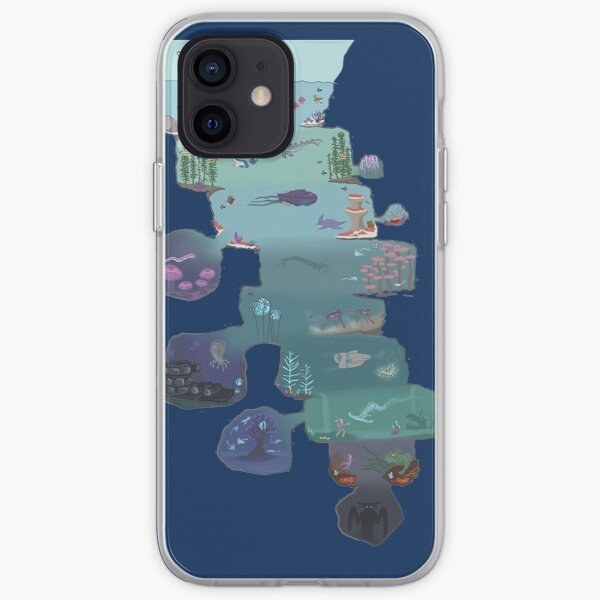 Subnautica cross section  iPhone Soft Case