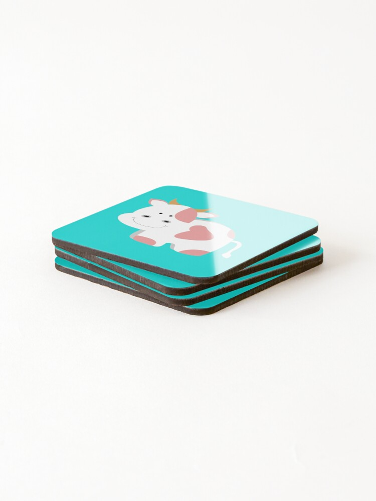 Alternate view of Happy Cow Coasters (Set of 4)