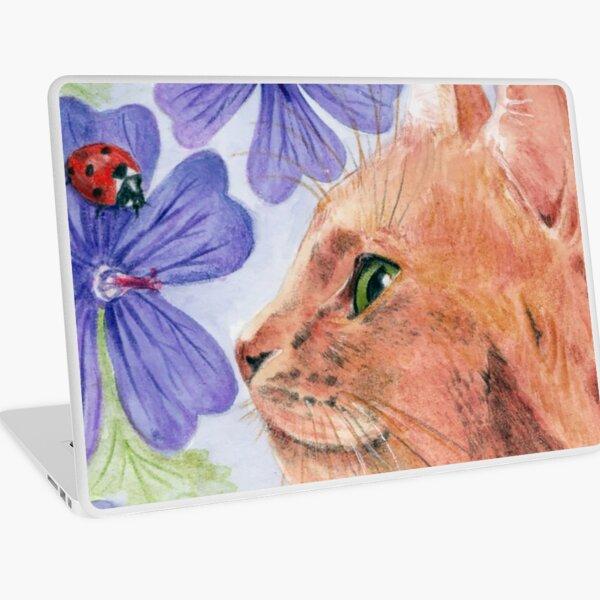 Ginger Cat 3 Laptop Skin