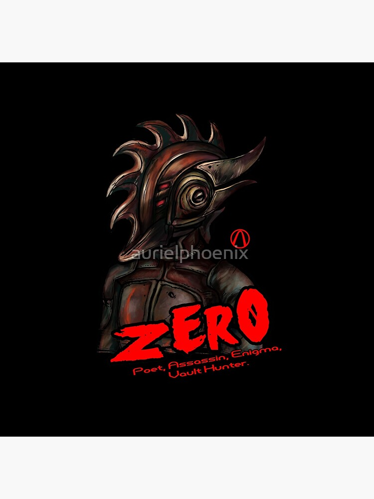 Borderlands 2 - Vault Hunter Zer0 the Assassin by aurielphoenix