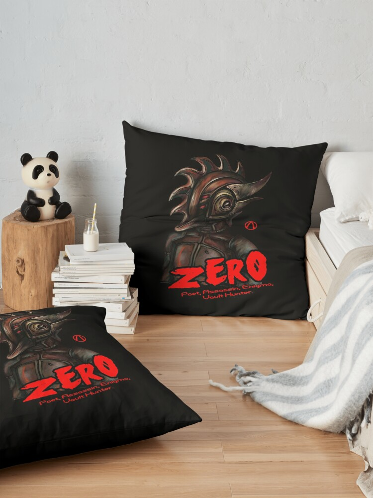 Alternate view of Borderlands 2 - Vault Hunter Zer0 the Assassin Floor Pillow