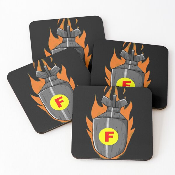 F-Bomb, Boom, Got to be said Coasters (Set of 4)