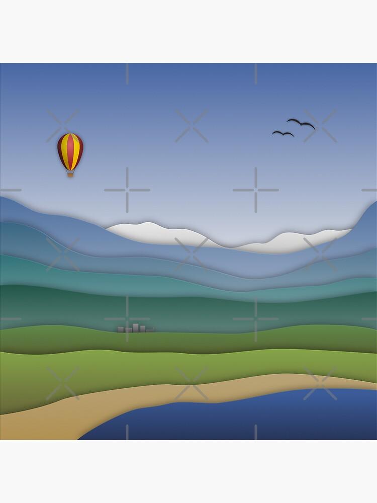 Papercut Dreams von brainbubbles